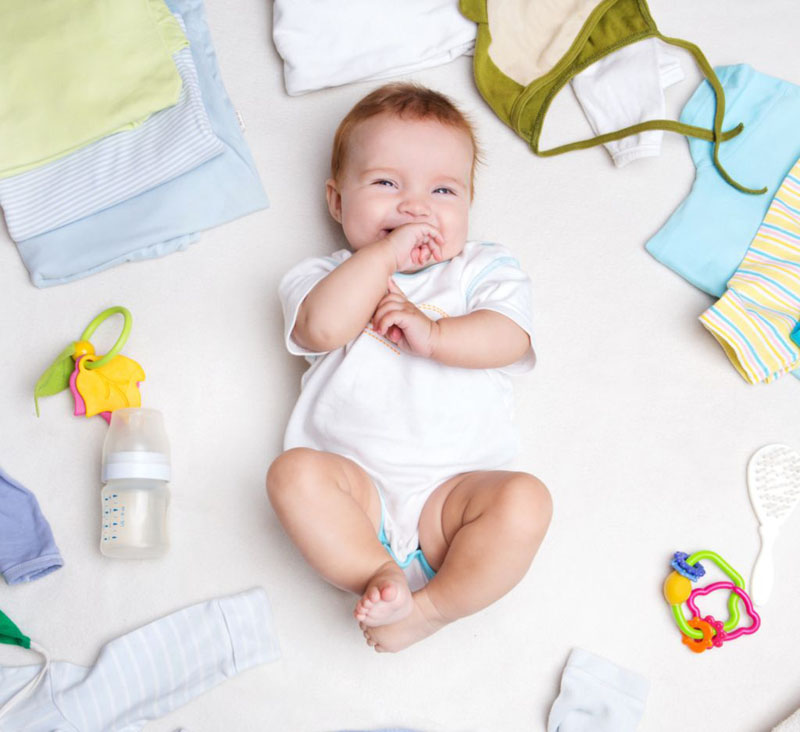 Melhores sites para fazer enxoval de bebê