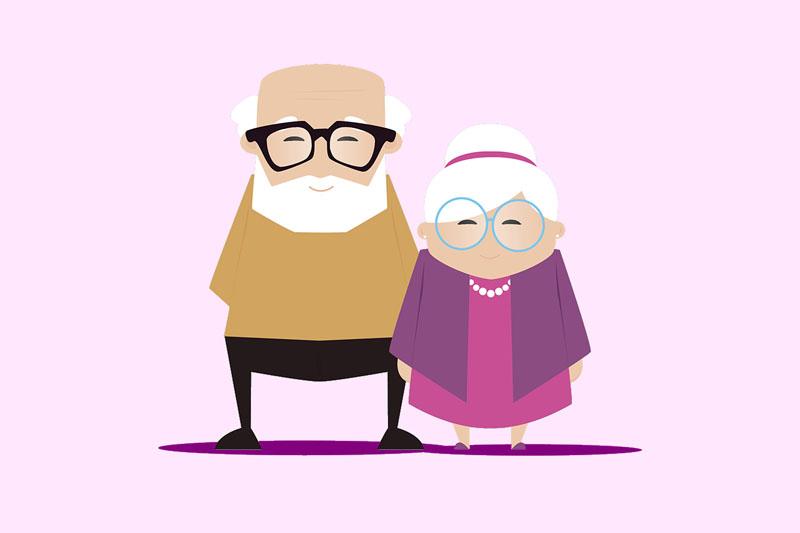 Presentes para avós e avôs